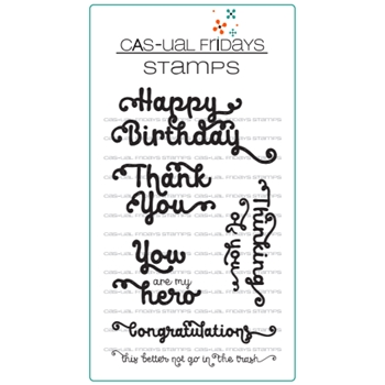 CAS-ual Fridays SO PRETTY Clear Stamps CFS1709