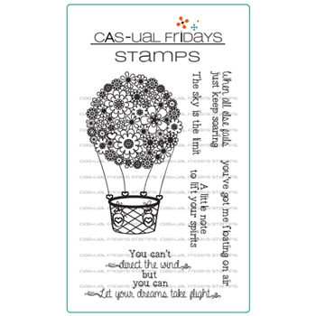 CAS-ual Fridays FLOATING Clear Stamps CFS1710
