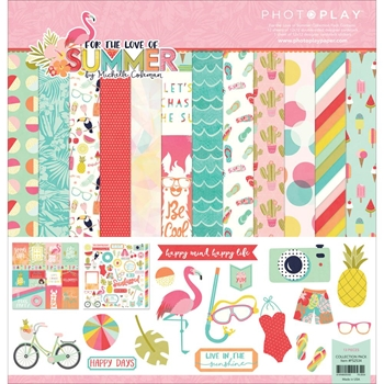 PhotoPlay FOR THE LOVE OF SUMMER 12 x 12 Collection Pack FS2534