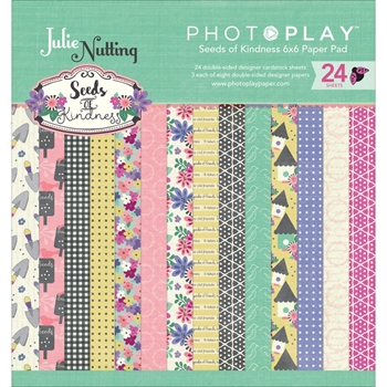 PhotoPlay SEEDS OF KINDNESS 6 x 6 Paper Pad SK2546