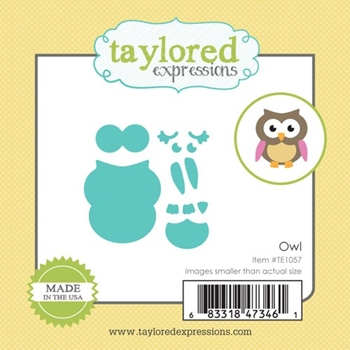 Taylored Expressions Little Bits OWL Die Set TE1057
