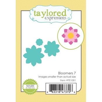 Taylored Expressions BLOOMERS 7 Die Set TE1081