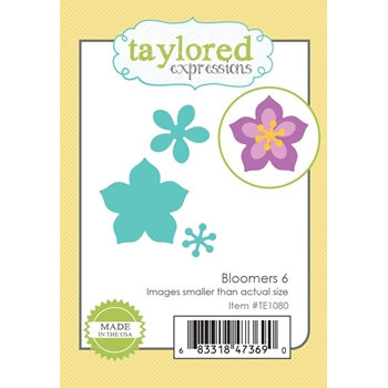 Taylored Expressions BLOOMERS 6 Die Set TE1080