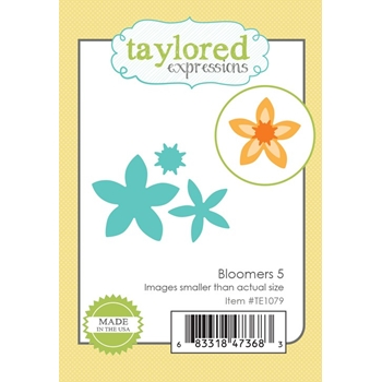 Taylored Expressions BLOOMERS 5 Die Set TE1079