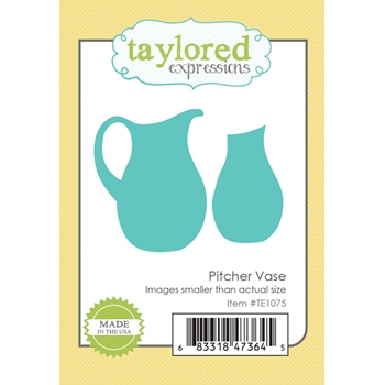 Taylored Expressions PITCHER VASE Die Set TE1075