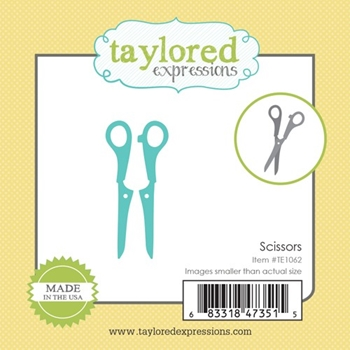 Taylored Expressions Little Bits SCISSORS Die Set TE1062