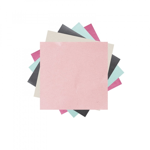 Sizzix BRITE-ONS 6x6 Shimmery Paper Sheets 662127 Preview Image