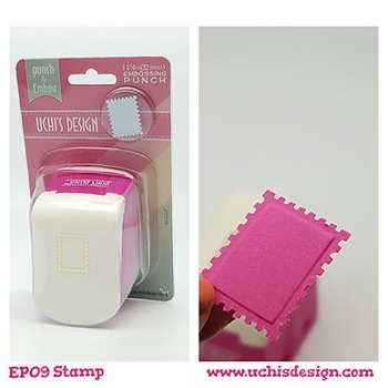 Uchi's Design STAMP Embossing Punch EP09