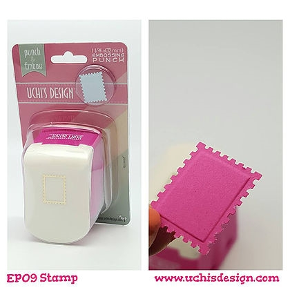 Uchi's Design STAMP Embossing Punch EP09 zoom image