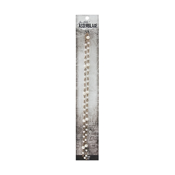 Tim Holtz Assemblage 18 INCH PEARL ROSARY CHAIN THA20009