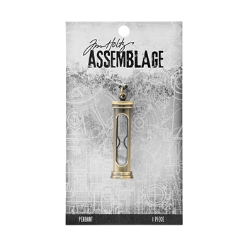 Tim Holtz Assemblage HOURGLASS PENDANT THA20075