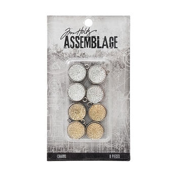 Tim Holtz Assemblage PACK OF 8 GUMDROPS CHARMS THA20034