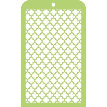 Kaisercraft MOROCCAN TILES Mini Designer Stencil Template IT009