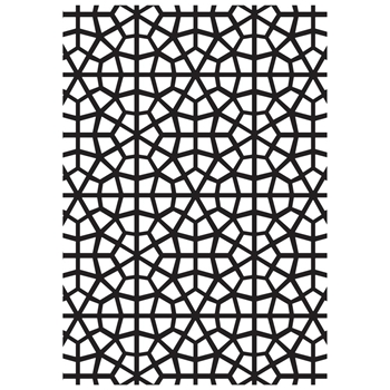 Kaisercraft MOSAIC Embossing Folder 4x6 Inches EF263