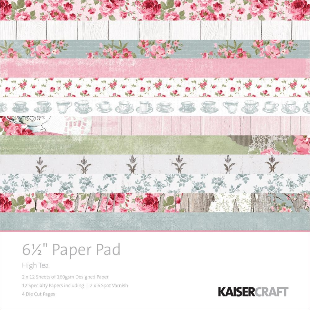 Kaisercraft HIGH TEA 6.5 x 6.5 Paper Pad PP1017 zoom image