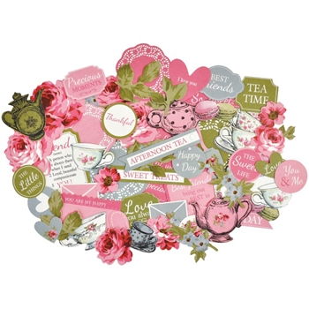 Kaisercraft HIGH TEA COLLECTABLES Die Cut Shapes CT879