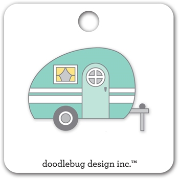 Doodlebug GLAMPER Collectable Pin 5411