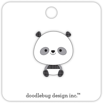 Doodlebug PANDA Collectable Pin 5605