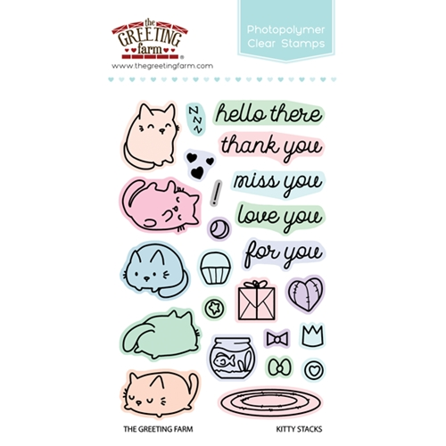 The greeting farm kitty stacks clear stamps tgf308 at simon says stamp the greeting farm kitty stacks clear stamps tgf308 preview image shadow m4hsunfo