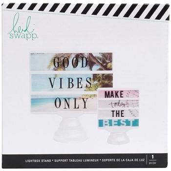 Heidi Swapp WHITE Lightbox Display Stand 313778