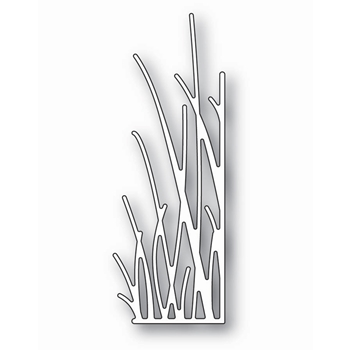 Memory Box TALL GRASSY STEMS RIGHT CORNER Craft Die 99693