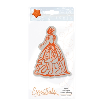 Tonic SWEET SASHAY Belle Boutique Cling Stamp 1208E