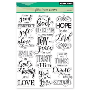 Penny Black GIFTS FROM ABOVE Clear Stamp Set 30-429
