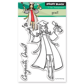 Penny Black GRAD Clear Stamp Set 30-428
