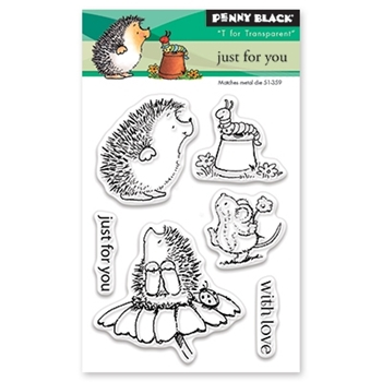 Penny Black JUST FOR YOU Clear Stamp Set 30-424