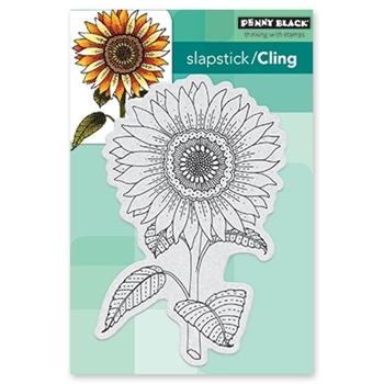 Penny Black Cling Stamp SUNGLOW 40-519