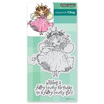 Penny Black Cling Stamp FAIRY BIRTHDAY 40-524