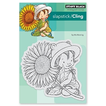 Penny Black Cling Stamp SUNFLOWER BABY 40-526