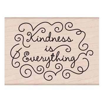 Hero Arts Rubber Stamp KINDNESS IS EVERYTHING K6238