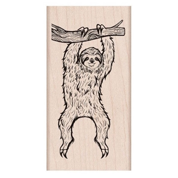 Hero Arts Rubber Stamp SLOTH H6232