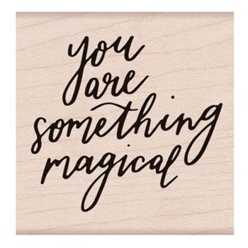 Hero Arts Rubber Stamp SOMETHING MAGICAL F6236