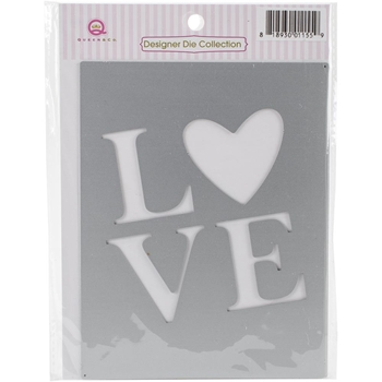 Queen & Company LOVE Foam Front Die FD1155