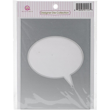 Queen & Company SPEECH BUBBLE Foam Front Die FD1153