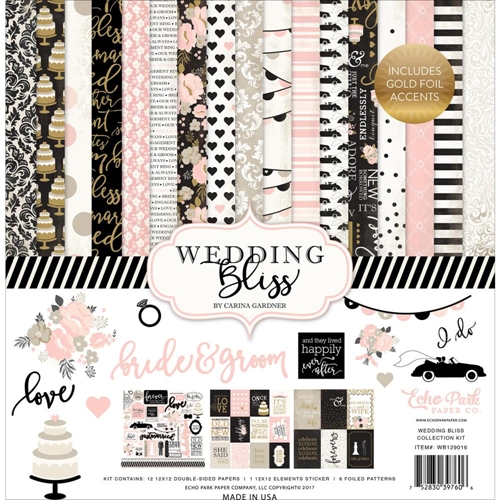 Echo Park WEDDING BLISS 12 x 12 Collection Kit WB129016 Preview Image
