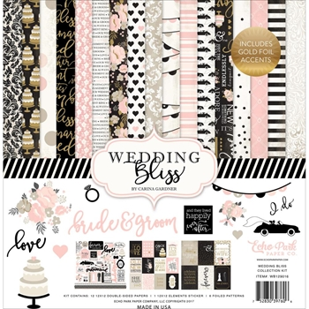 Echo Park WEDDING BLISS 12 x 12 Collection Kit WB129016