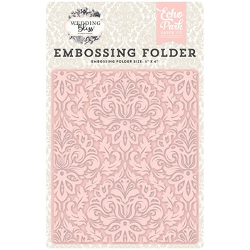 Echo Park DAINTY DAMASK Embossing Folder WB129031