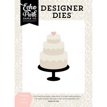Echo Park WEDDING CAKE Die Set WB129040