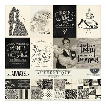 Authentique ALWAYS 12 x 12 Collection Kit ALW011