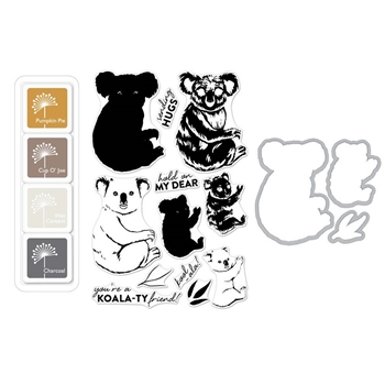 Hero Arts Color Layering KOALA Bundle SB157