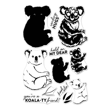 Hero Arts Clear Stamps Color Layering KOALA CM163