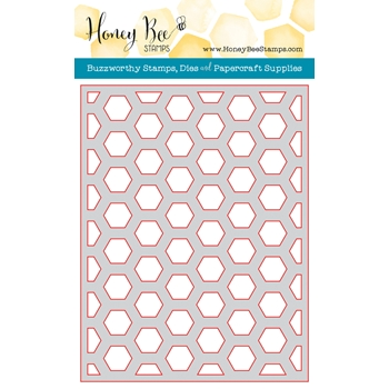 Honey Bee HEXAGON COVER PLATE MIDDLE Die HBDSHXPLT2