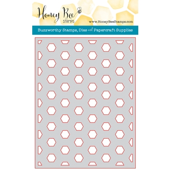 Honey Bee HEXAGON COVER PLATE BASE Die HBDSHXPLT1