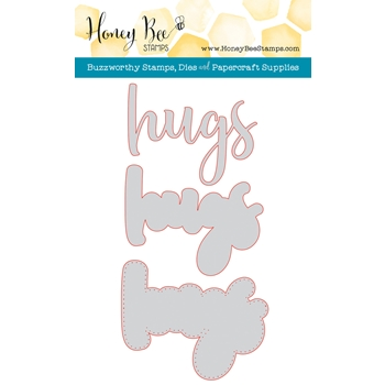 Honey Bee HUGS Die HBDS64