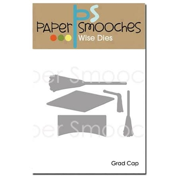 Paper Smooches GRAD CAP Wise Dies M2D382