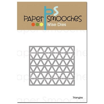 Paper Smooches TRIANGLES Wise Die M2D387