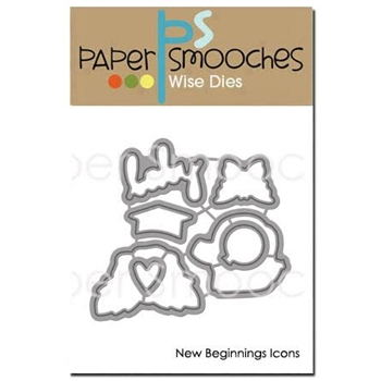Paper Smooches NEW BEGINNINGS ICONS Wise Dies M2D385